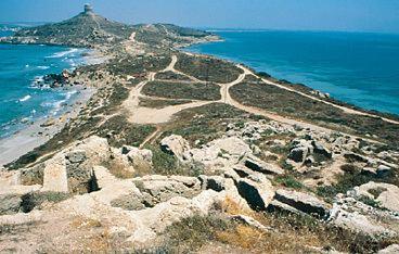 Tharros Sardegna Cultura Luoghi della cultura Aree archeologiche