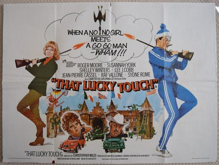 That Lucky Touch That Lucky Touch Original UK Quad Poster Roger Moore Susannah York 75