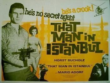 That Man in Istanbul ORIGINAL THAT MAN IN ISTANBUL POSTER