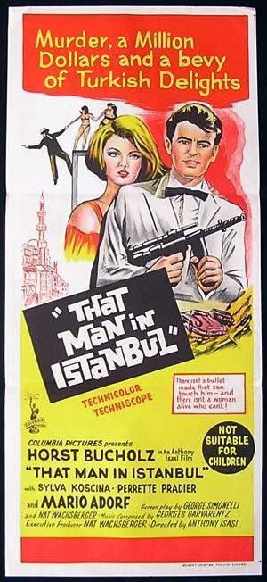 That Man in Istanbul THAT MAN IN ISTANBUL Daybill Movie poster 1965 Horst Buchholz
