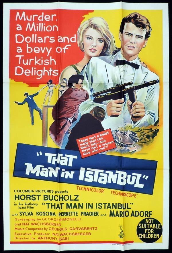 That Man in Istanbul THAT MAN IN ISTANBUL One Sheet Movie Poster Horst Buchholz