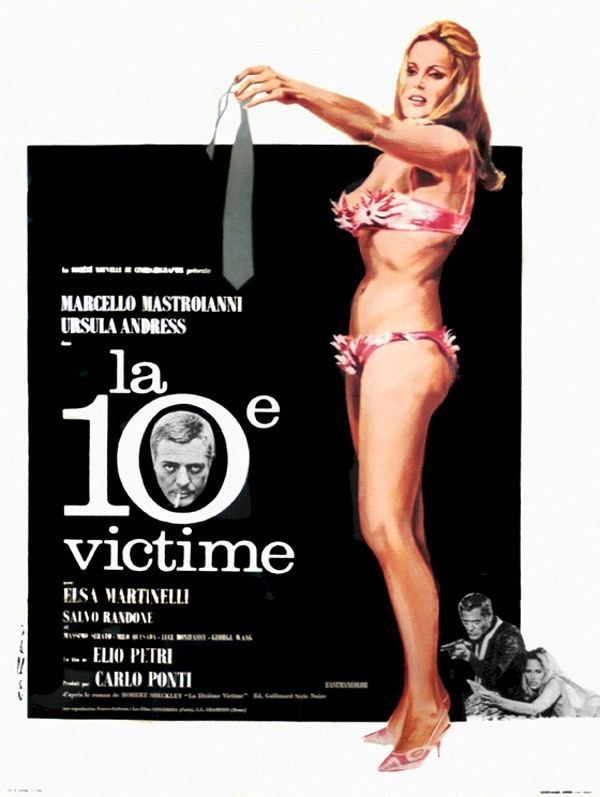 The 10th Victim Movie posters from The 10th Victim Elio Petri 1965 page 1