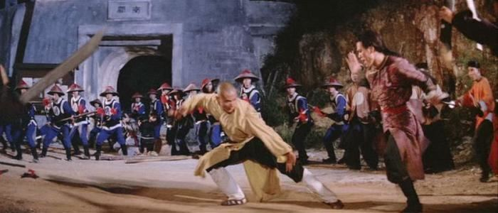 The 36th Chamber of Shaolin movie scenes After the beginning there are actually no real fight scenes bar the odd tiny skirmish for almost the next hour but I m always so caught up in firstly the