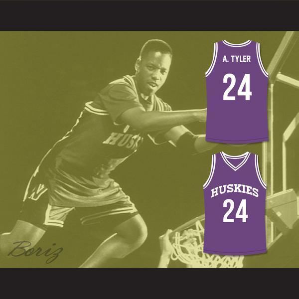 The 6th Man Antoine Tyler 24 Huskies Basketball Jersey The 6th Man