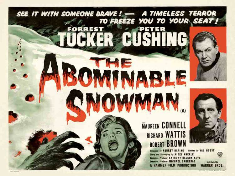 The Abominable Snowman (film) The Cushing Files The Abominable Snowman 1957
