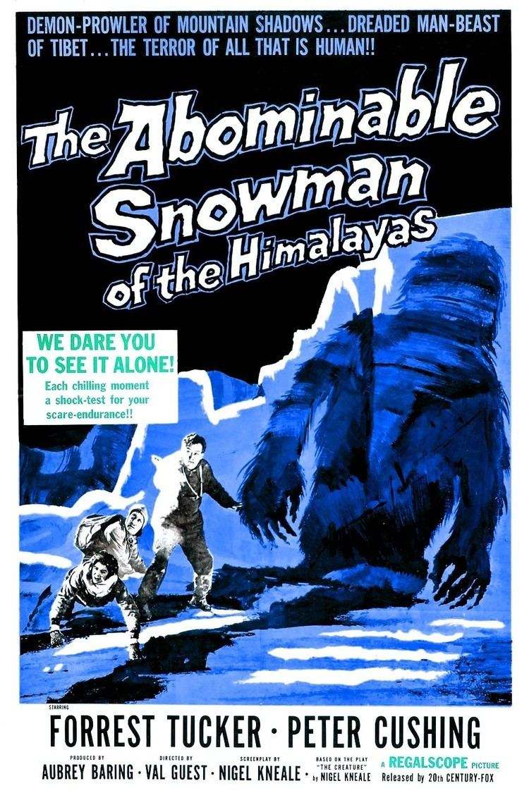 The Abominable Snowman (film) World Cinema Paradise Bluray Review The Abominable Snowman 1957