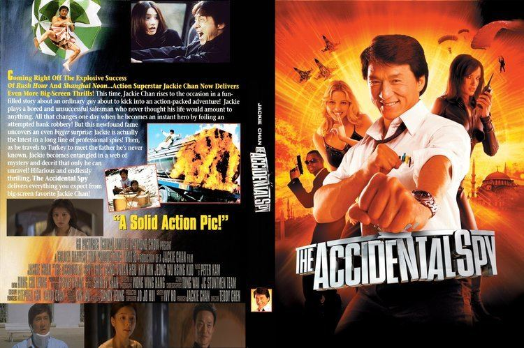 The Accidental Spy COVERSBOXSK The Accidental Spy 2001 high quality DVD
