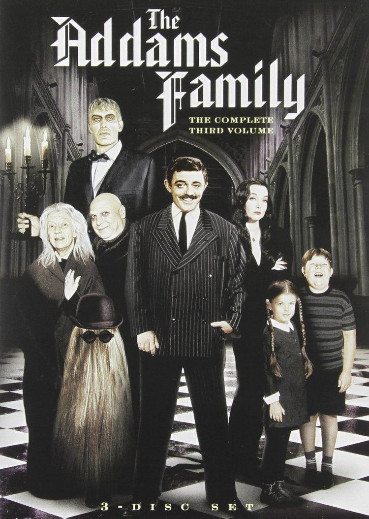 The Addams Family (1964 TV series) 10 Best images about The Addams Family on Pinterest Carolyn jones