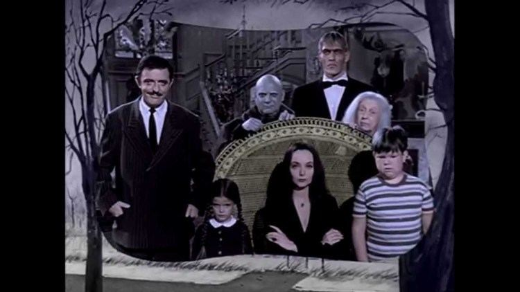 The Addams Family (1964 TV series) The Addams Family 1964 TV Show Opening COLORIZED fanmade YouTube