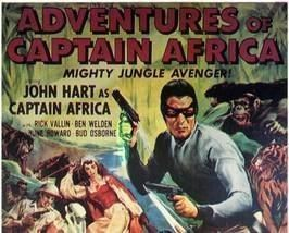 The Adventures of Captain Africa THE ADVENTURES OF CAPTAIN AFRICA 15 Chapter Serial for sale