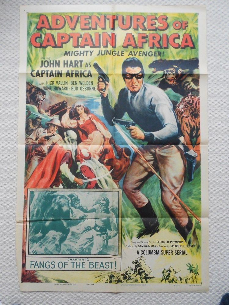 The Adventures of Captain Africa Adventures of Captain Africa Chapter 12 Original Movie Poster