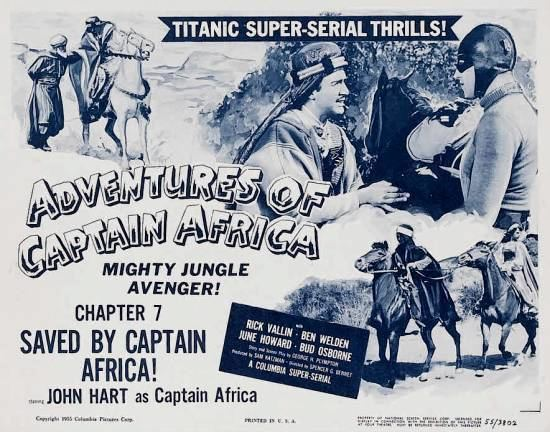 The Adventures of Captain Africa Davy Crocketts Almanack of Mystery Adventure and The Wild West