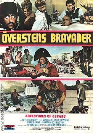 The Adventures of Gerard Adventures of Gerard poster 1970 Peter McEnery original