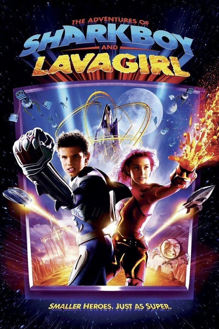 The Adventures of Sharkboy and Lavagirl in 3-D wwwgstaticcomtvthumbmovieposters36122p36122