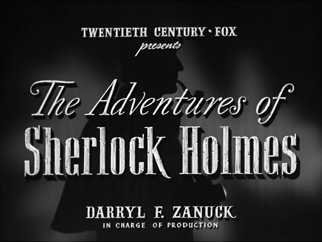 The Adventures of Sherlock Holmes (film) The Adventures of Sherlock Holmes 1939 Alfred L Werker Basil