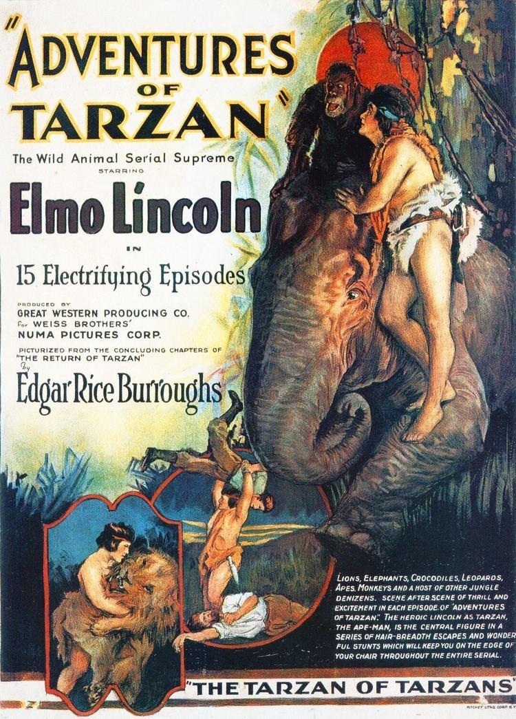 The Adventures of Tarzan The Adventures of Tarzan A Lost Film