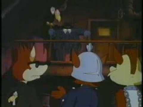 The Adventures of the American Rabbit movie scenes Part 10 The Adventures of the American Rabbit 1986
