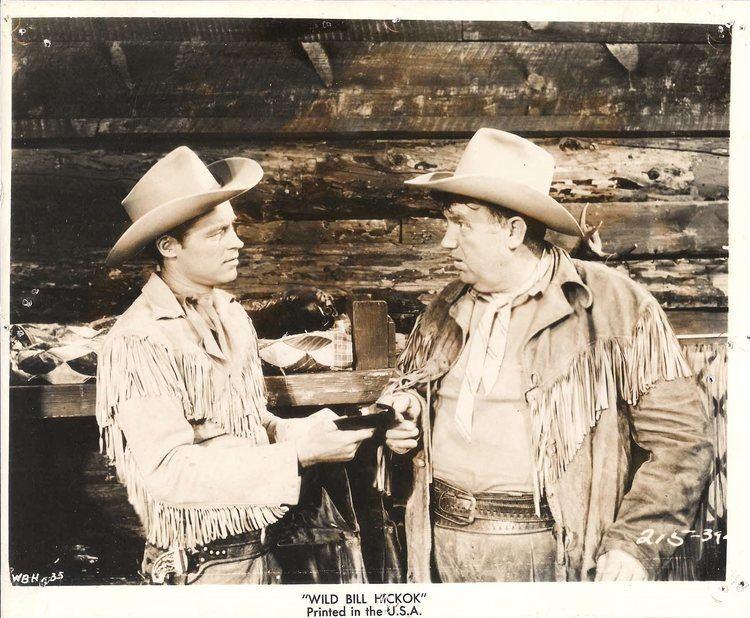The Adventures of Wild Bill Hickok GUY MADISON ampamp ANDY DEVINE in amp034The Adventures of Wild Bill