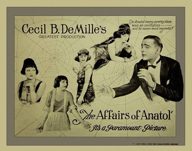 The Affairs of Anatol The Affairs of Anatol 1921
