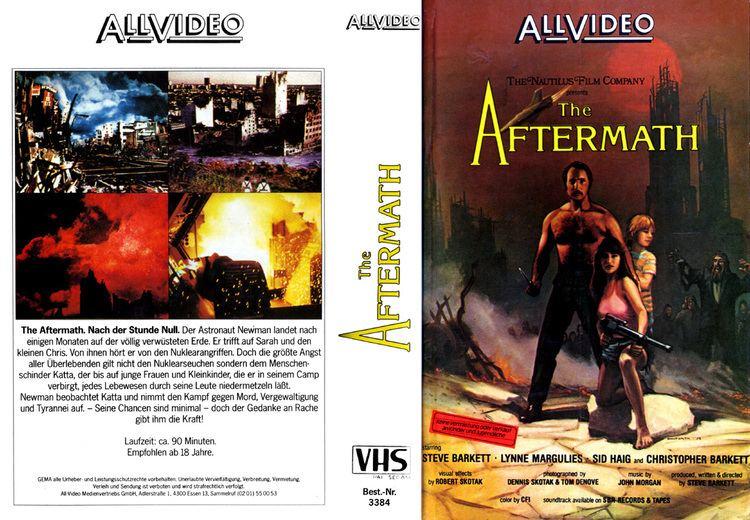 The Aftermath (1982 film) Cinema Arcana The VHS Archives Steve Barketts AFTERMATH 1982