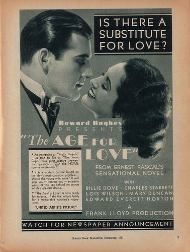 The Age for Love The Age for Love 1931