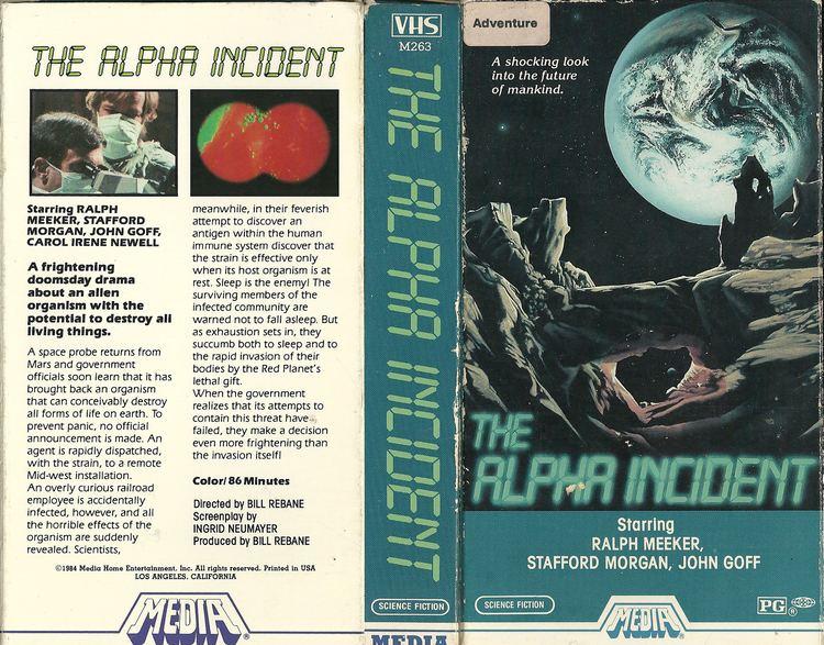The Alpha Incident RetroDaze VHS Covers