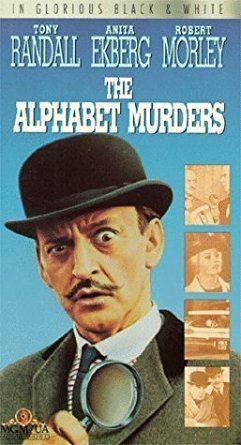 The Alphabet Murders Amazoncom The Alphabet Murders VHS Tony Randall Robert Morley