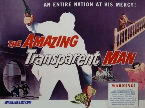 The Amazing Transparent Man Public Domain Movie The Amazing Transparent Man 1960