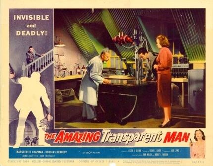The Amazing Transparent Man The Amazing Transparent Man 1960