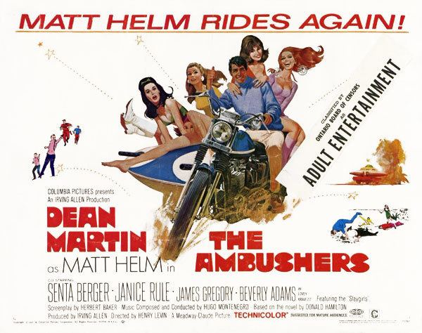 The Ambushers (film) Dean Martin Lambretta Cento hot pants boots ScooterNova Magazine