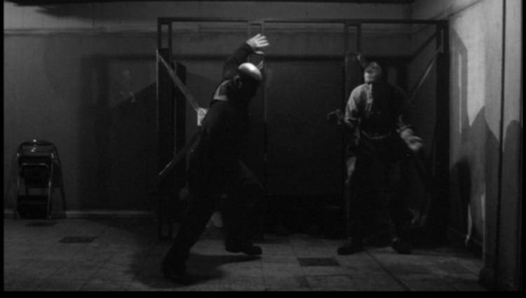 The American Astronaut movie scenes Awesome bathroom music attack scene