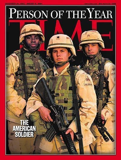 The American Soldier TIME Magazine Cover Person of the Year The American Soldier Dec