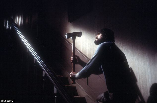 The Amityville Horror (1979 film) movie scenes Haunted Actor James Brolin in a scene from the Amityville horror movie