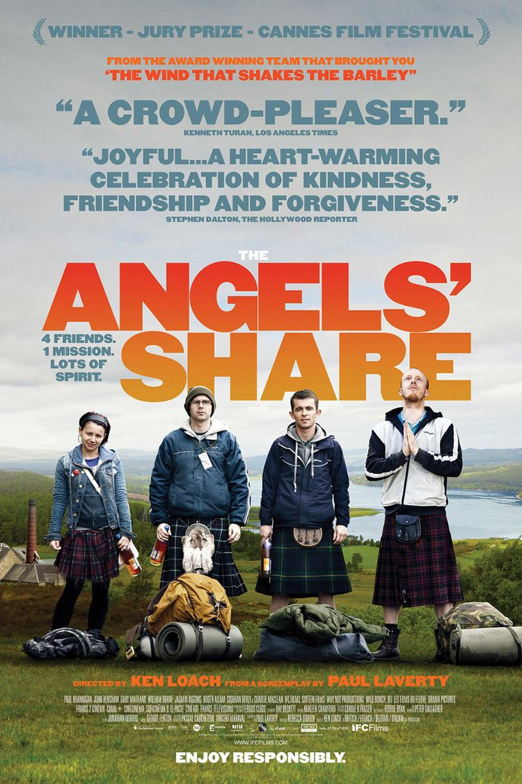 The Angels' Share wwwgstaticcomtvthumbmovieposters9268799p926