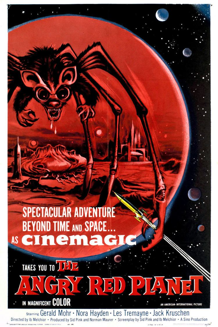 The Angry Red Planet wwwgstaticcomtvthumbmovieposters2614p2614p