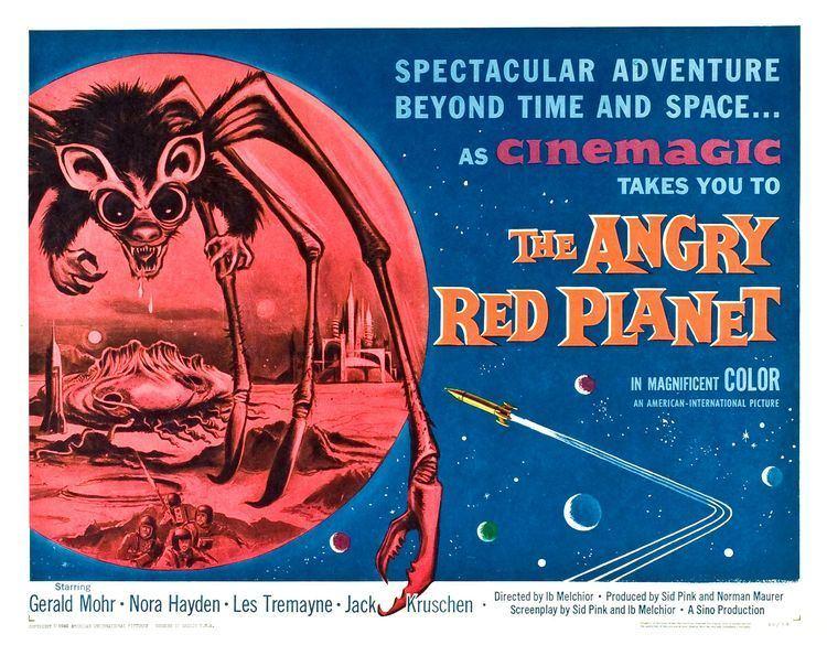 The Angry Red Planet The Angry Red Planet 1959 HORRORPEDIA