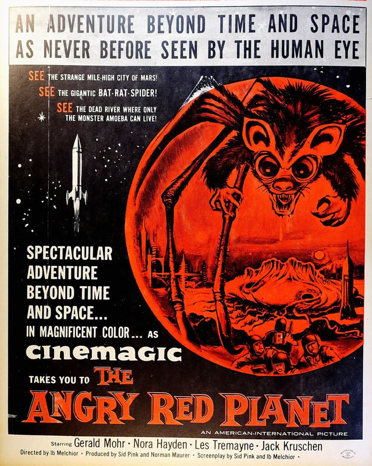 The Angry Red Planet The Angry Red Planet AIP 1959 Window Card from the Ben Flickr
