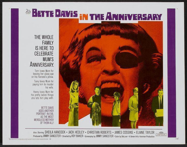 The Anniversary (1968 film) The Anniversary 1968 Dir Roy Ward Baker Below The Radar