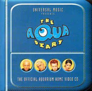 The Aqua Diary Aqua The Aqua Diary The Official Aquarium Home Video CD CD at