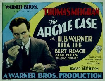 The Argyle Case (1929 film) The Argyle Case 1929 film Wikipedia