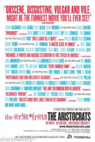 The Aristocrats (film) The Aristocrats Film TV Tropes