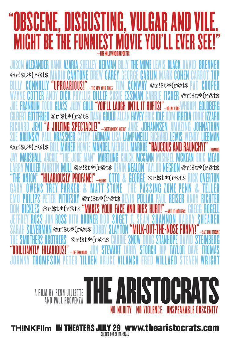 The Aristocrats (film) wwwgstaticcomtvthumbmovieposters89597p89597