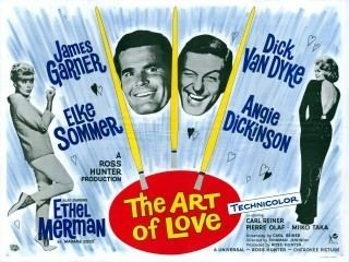 The Art of Love (1965 film) British Comedy Movie Posters
