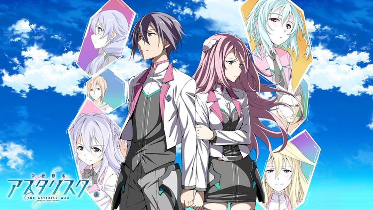 The Asterisk War 17 The Asterisk War The Academy City On The Water HD Wallpapers