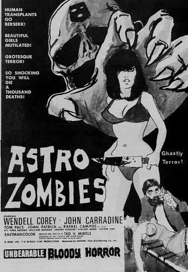 The Astro-Zombies The AstroZombies 1968 HORRORPEDIA