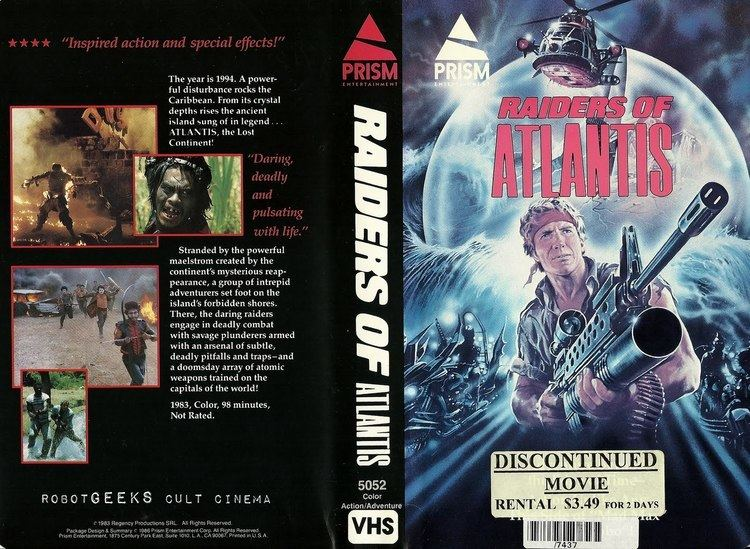 The Atlantis Interceptors robotGEEKS Cult Cinema Review Raiders of Atlantis