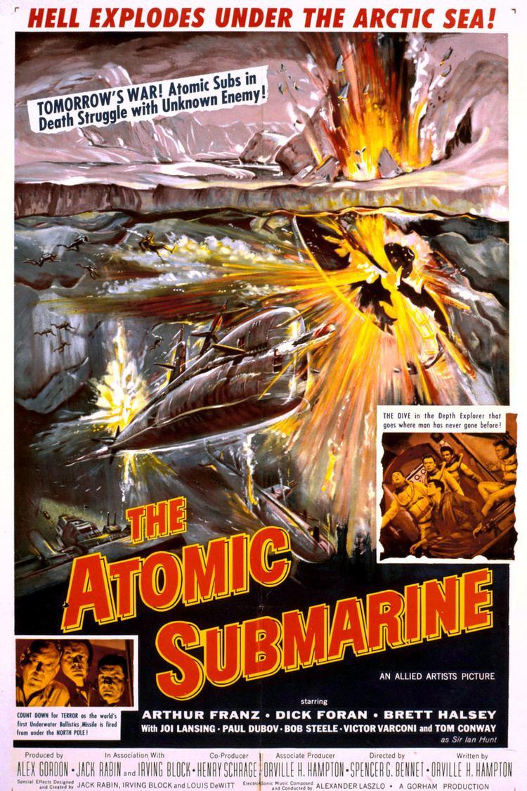 The Atomic Submarine wwwgstaticcomtvthumbmovieposters41422p41422