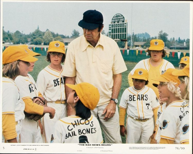 The Bad News Bears Good news we found The Bad News Bears for their 40th anniversary