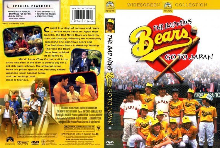 The Bad News Bears Go to Japan Bad News Bears Go To Japan Movie DVD Scanned Covers 349Bad News