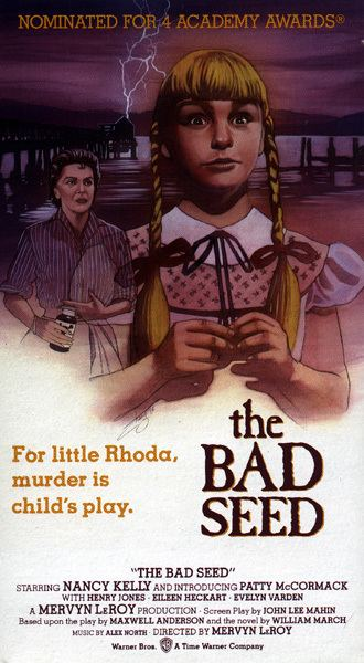 The Bad Seed (1956 film) The Bad Seed 1956 Critical Dave